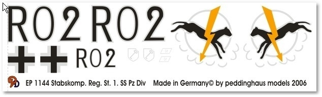 EP 1144 Stabskompanie 1.SS Pz Div