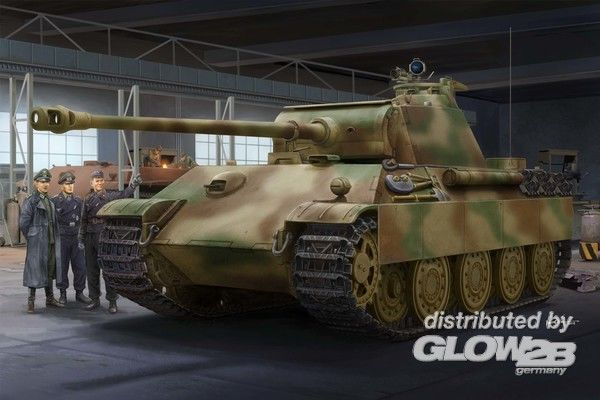German Sd.Kfz.171 Panther Ausf.G - Late Version 00929