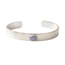 A BEAUTIFUL STORY Bracelet Blue lace agate