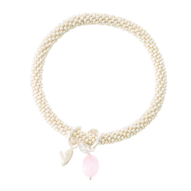A BEAUTIFUL STORY Bracelet Jacky Rose quartz