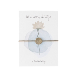 A BEAUTIFUL STORY  Jewelry postcard lotus