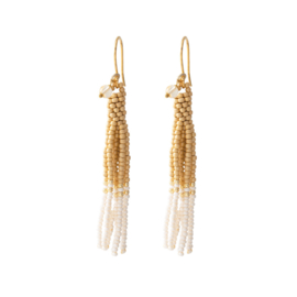 A BEAUTIFUL STORY Dream Citrine gold  Earring