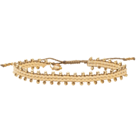 A BEAUTIFUL STORY Happiness citrien Goud Armband