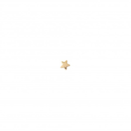 A BEAUTIFUL STORY Star SterlingSilver Gold Plated Earring