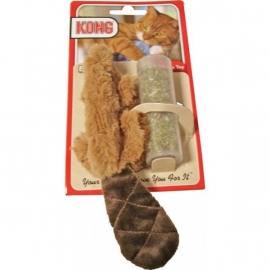 Kong bever met catnip