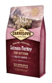 Carnilove Salmon & Turkey Kitten 400gr