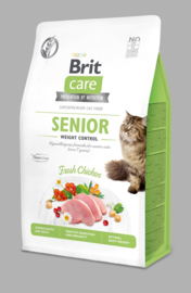 Care Cat Grain-Free Senior Weight Control, 2 kg