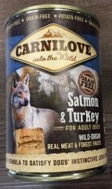Carnilove zalm & turkey 400 gr