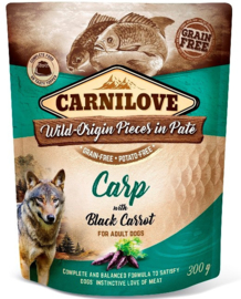 Pouch Paté Carp with Black Carrot 300 g