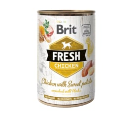 Brit Fresh can Chicken with sweet potato 400g