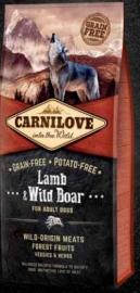 Carnilove Lamb & Wild boar 1.5 kg