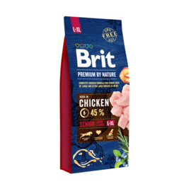 Brit premium senior L-XL 15kg