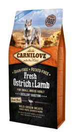 Carnilove VERS Struisvogel & Lam