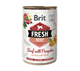 Brit Fresh can Beef with pumpkin    400g