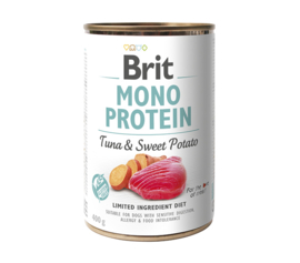 Brit Mono Protein Tuna & Sweet Potato 400gr