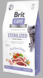 Brit care sterilized weight control