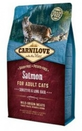 Carnilove Salmon Sensative & Long hair 2kg