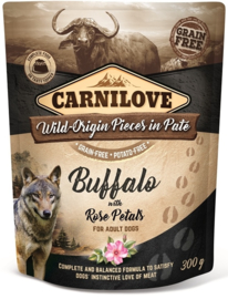 Pouch Paté Buffalo with Rose Petals 300 g