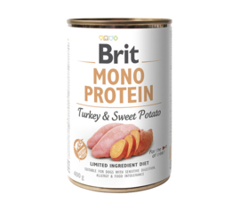 Brit Mono Protein Turkey & Sweet Potato 400gr