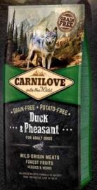 Carnilove Duck & pheasant 1.5 kg