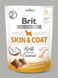 B Care Dog Functional Snack Skin&Coat Krill 150 g