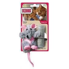 Kong rat met catnip