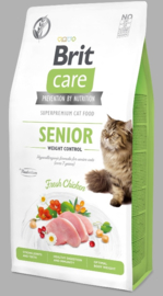 Care Cat Grain-Free Senior Weight Control, 7 kg