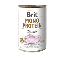 Brit Mono Protein Rabbit 400gr