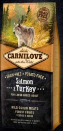Carnilove Salmon & Turkey Large breed 12 kg