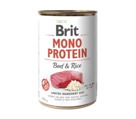 Brit Mono Protein Beef & Rice 400gr