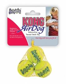 Kong net a 3 tennisballen met piep xs