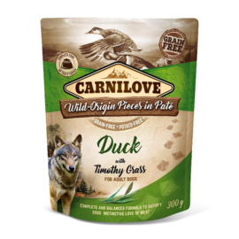 Pouch Paté Duck with Timothy Grass 300 g