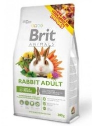 Brit animals konijn adult 300 gr