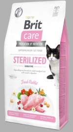 Care Cat Grain-Free Sterilized Sensitive, 400gr