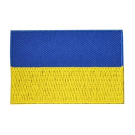 Embleem vlag Oekraïne