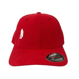 Ôot ketuur - curved cap - rood