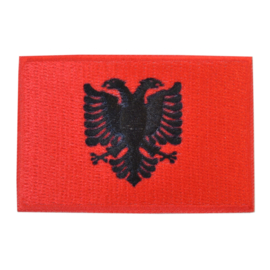 Embleem vlag Albanië