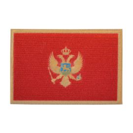 Embleem vlag Montenegro