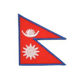 Embleem vlag Nepal