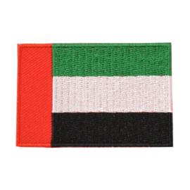 Embleem vlag VAE/Verenigde Arabische Emiraten
