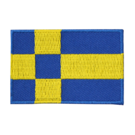 Embleem Tilburgse vlag groot (7,5 x 5 cm)