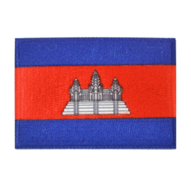 Embleem vlag Cambodja