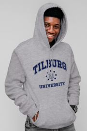 Tilburg University Hoodie grijs (official)