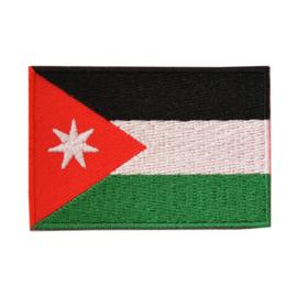 Embleem vlag Jordanië
