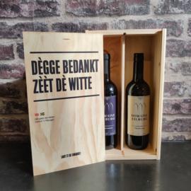 Wijnkist 2 vaks - Mee Pènsjoen