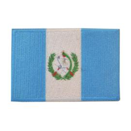 Embleem vlag Guatemala