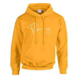 Tilburg Hoodie - Unisex - Warm geel