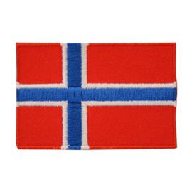 Embleem vlag Noorwegen