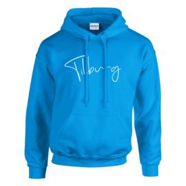 Tilburg Hoodie - Unisex - Fel blauw