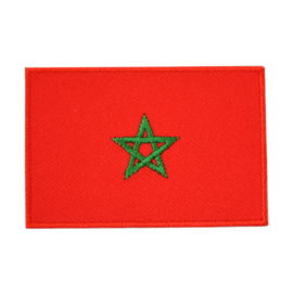 Embleem vlag Marokko